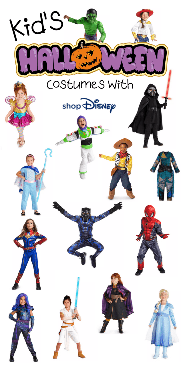 Here are the best in Disney Halloween Costumes for Kids. This fantastic post rounds up the spooky and adorableness of ShopDisney's Halloween Collection for 2019.  #ad @ShopDisney #halloween2019 #disney #disneylove #disneymagic #waltdisney #disneyprincess #mickeymouse #disneyphoto #disneylife #disneyfan #mickey #disneyaddict #disnerd #starwars #halloween
