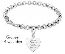 names4ever-zilveren-jasseron-armband-vier-woorden