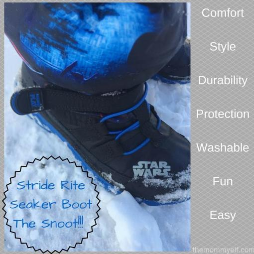 Stride Rite Sneaker BootThe Snoot! Comfort, style & protection! (3)