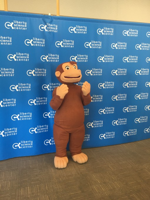 Curious George- The Mommy Elf- Liberty Science Center