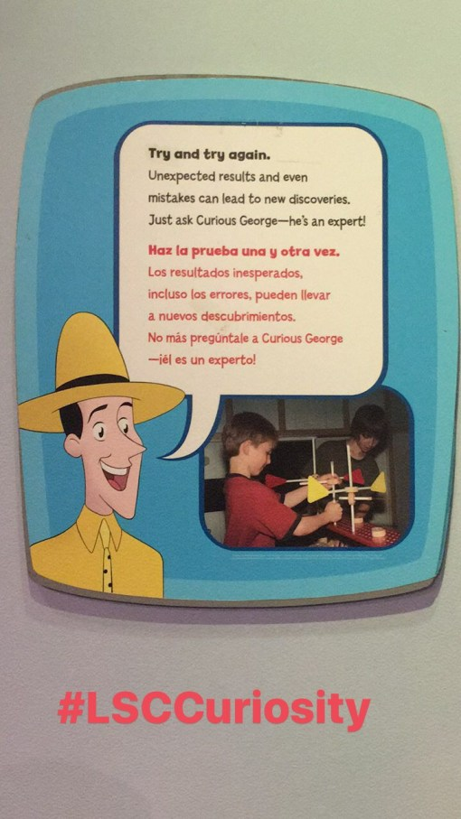 The Mommy Elf, Curious George, Liberty Science Center