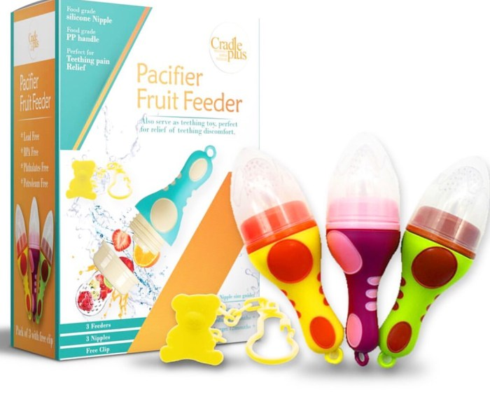 Fantastic Fruit Pacifier GIVEAWAY!