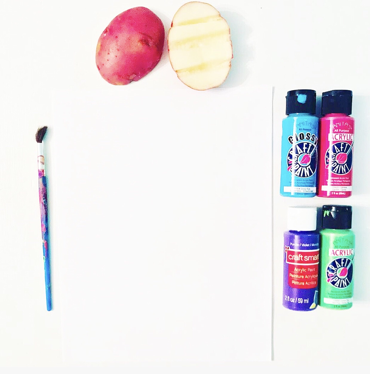 Potato Painting!