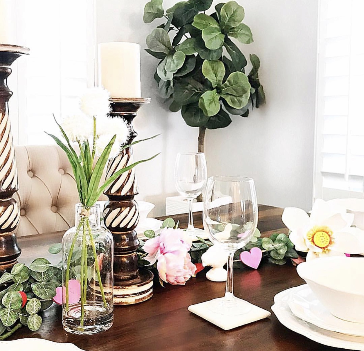 Top That! Spring Table Decor