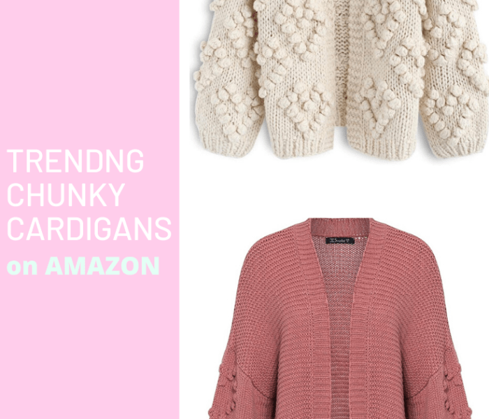 Trending Chunky Cardigans on Amazon