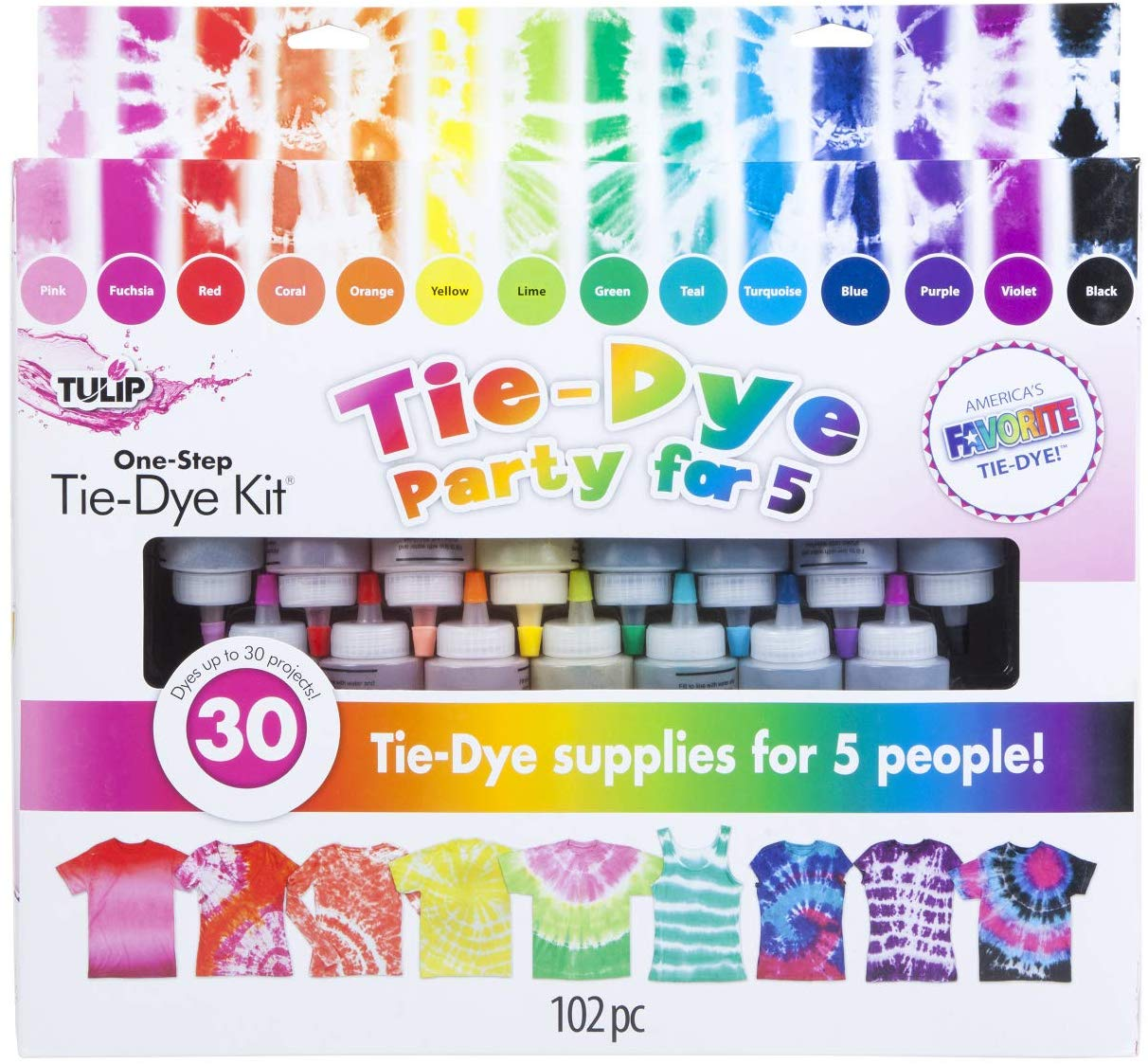 DIY; Tie-Dye Groovey Fun for Kids