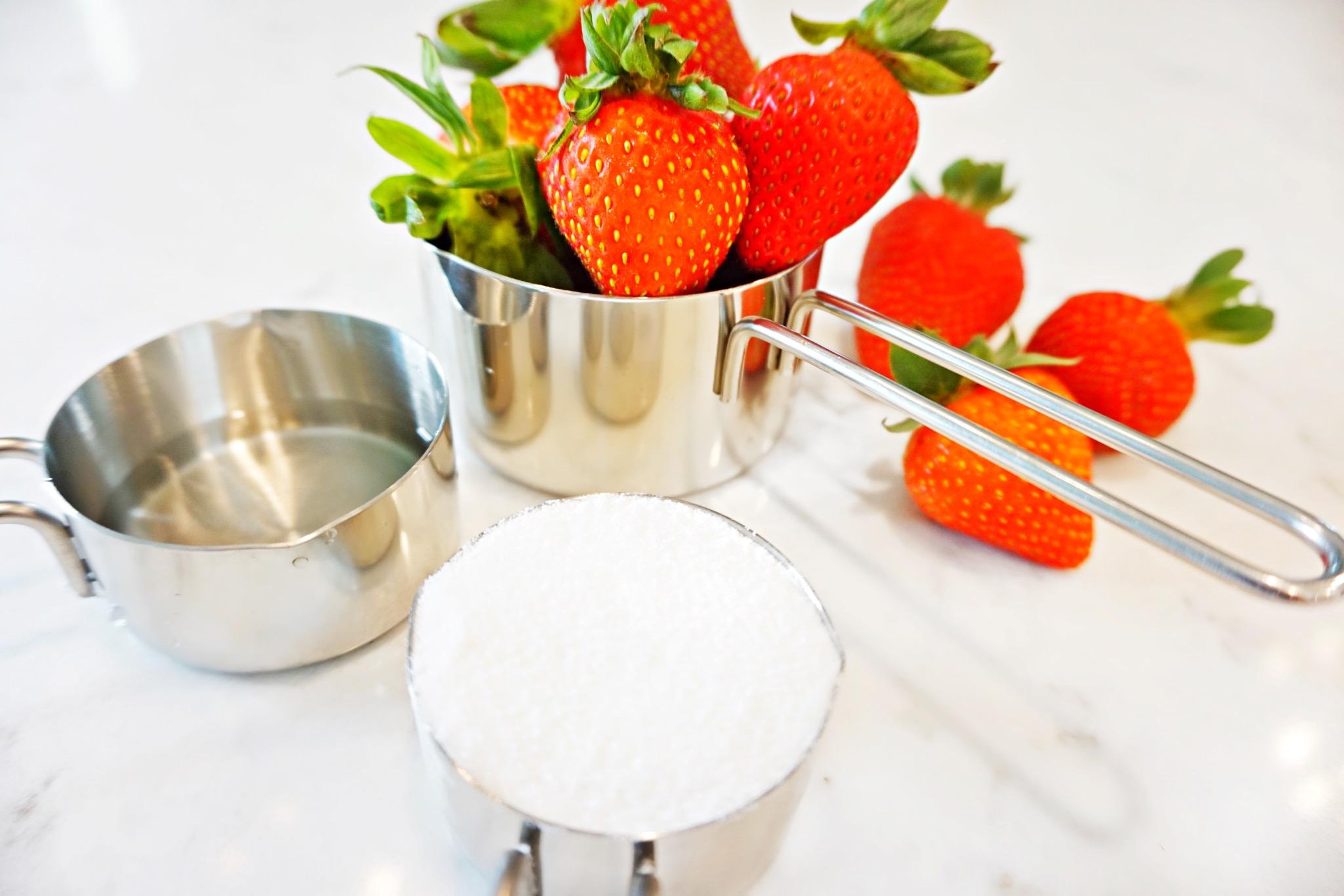3-Ingrident Strawberry Puree