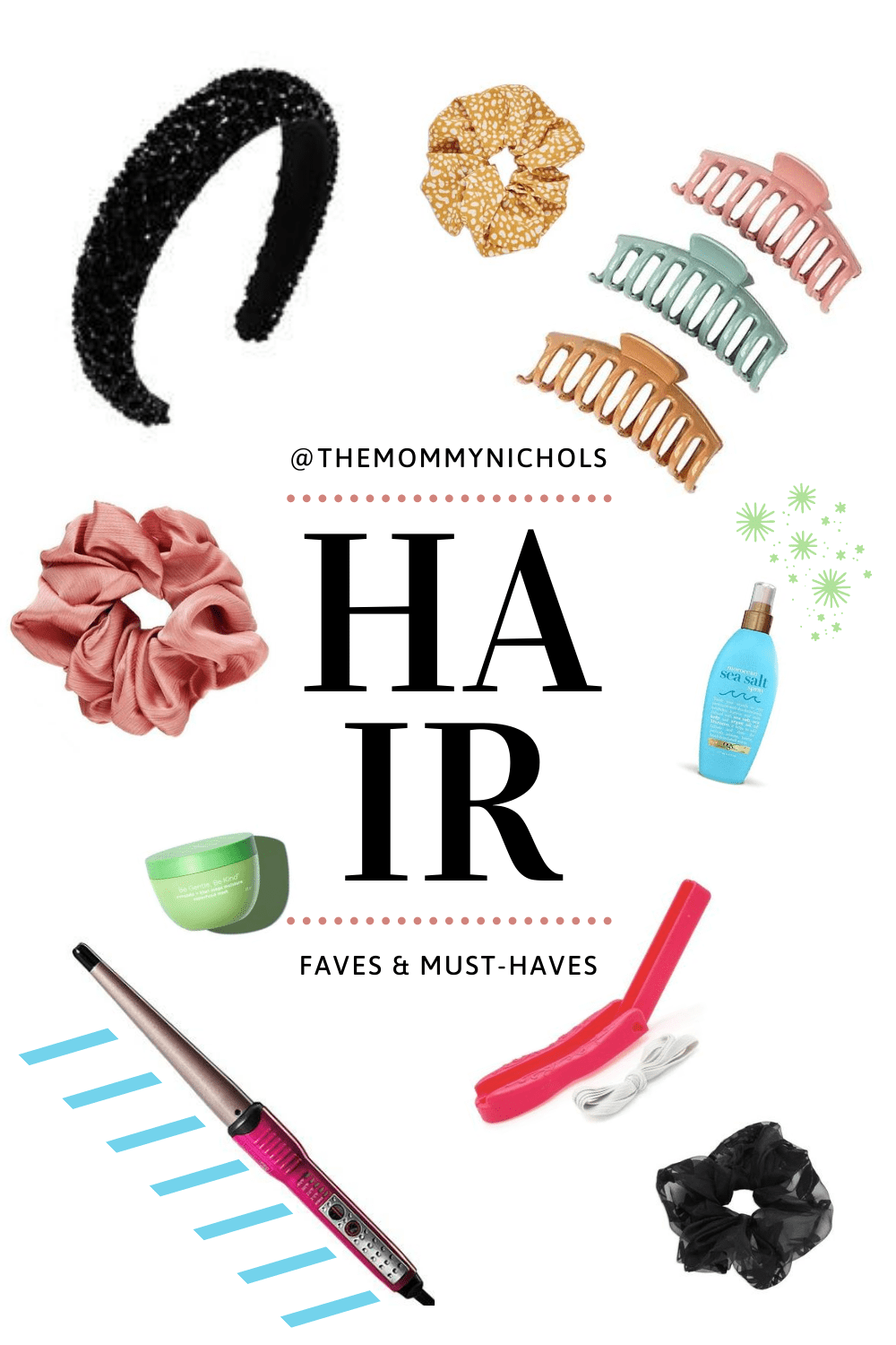 Favorite Hair Accessories & Must-Haves