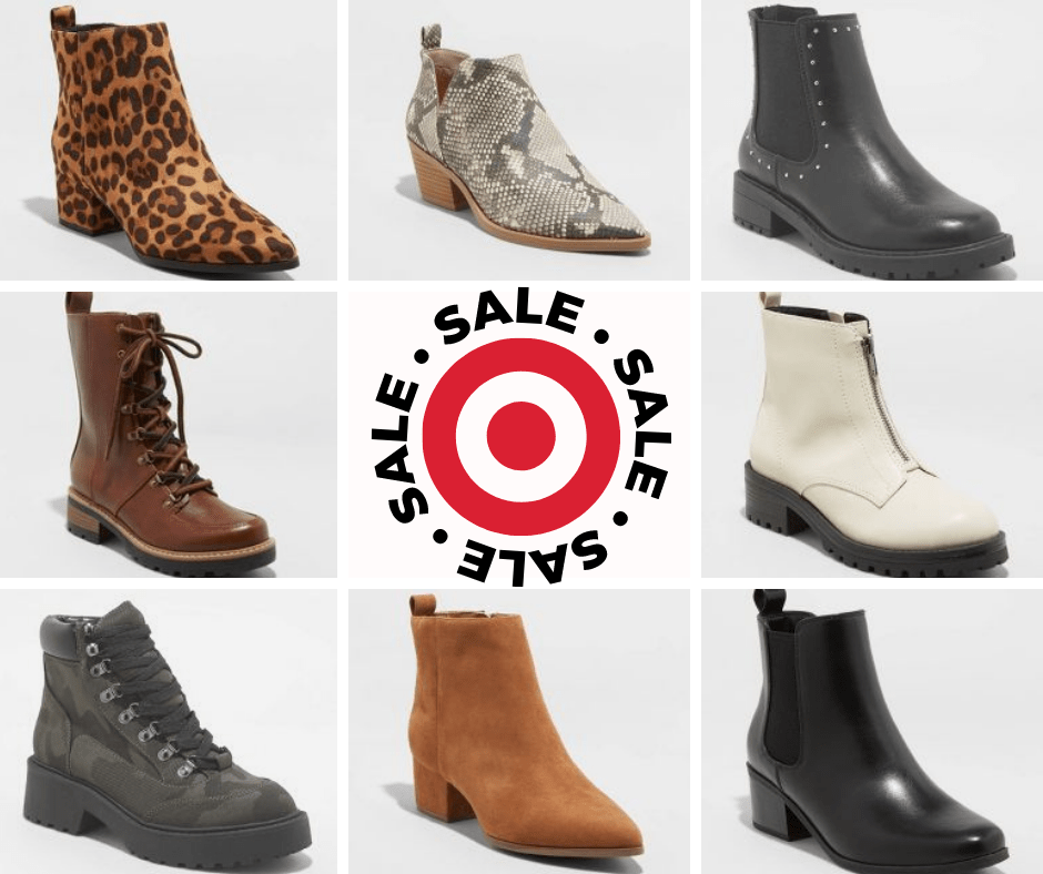 """Deal of the Day- TARGET """"BOGO"""" BOOTS"""