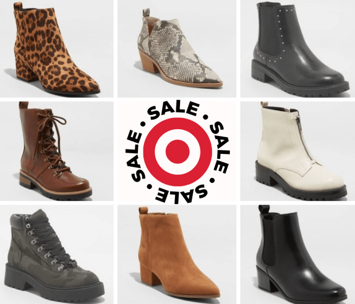 "Deal of the Day- TARGET ""BOGO"" BOOTS"