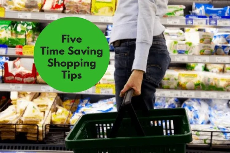 time saving shopping tips