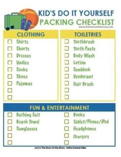 Kid Checklist