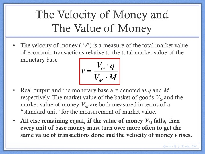 Image result for currency velocity  - Velocity of Money Model - Stablecoins in a Nutshell…And Why They Can Kill Decentralization
