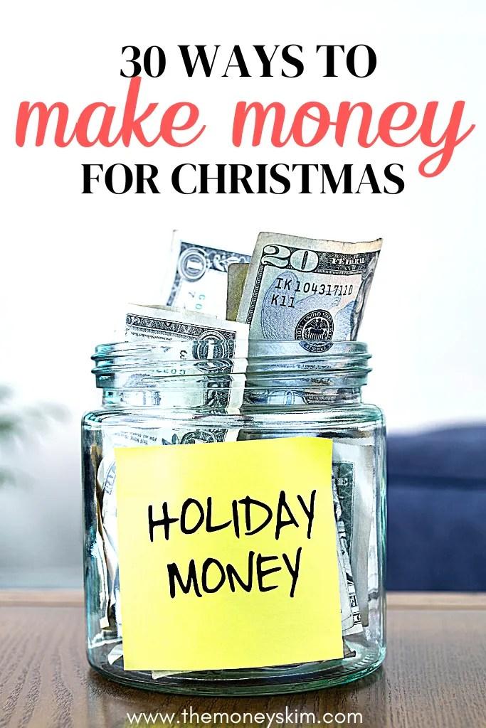 30 Ways to Make Money This Christmas