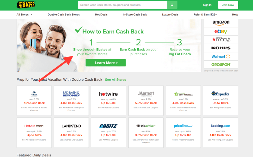 Earn money shopping online with the second easiest of the residual income ideas