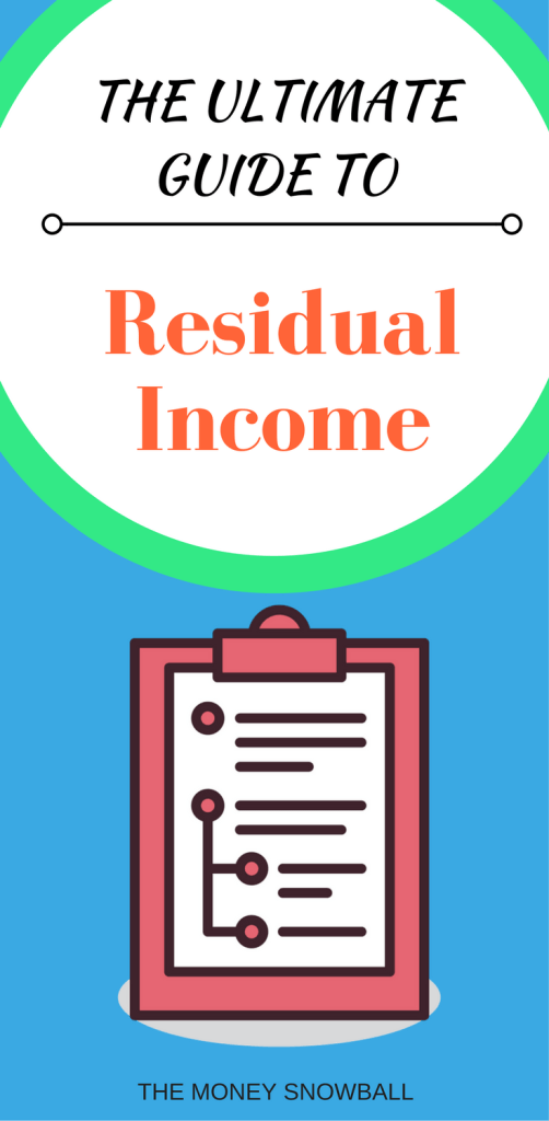 Everything you've ever wanted to know about Residual Income