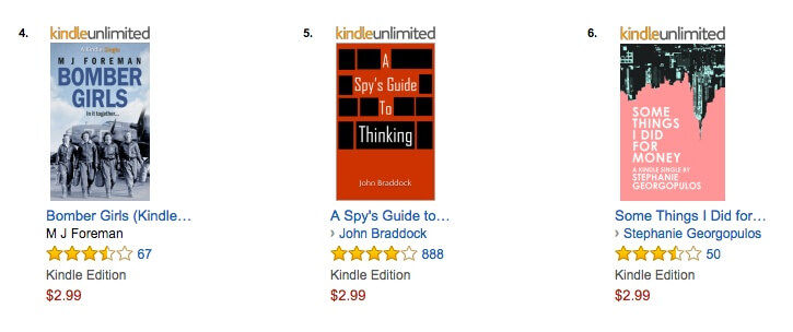 Price your ebook at $2.99
