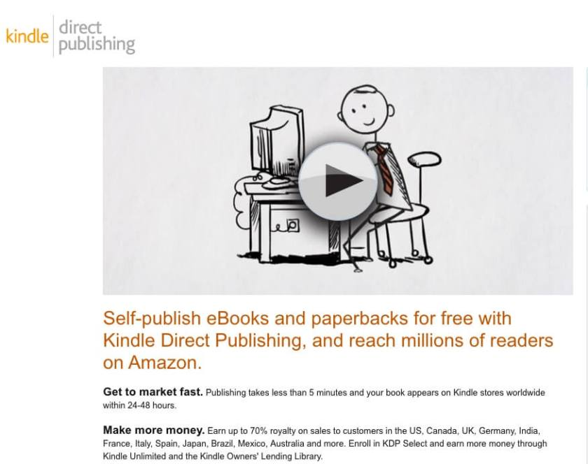 Best place to sell your ebook is on Amazon