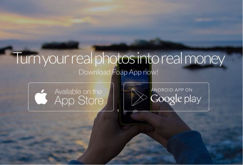 Make money with your photos on the Foap App