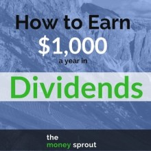 Follow these steps to earn one thousand dollars in dividends per year