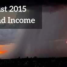 August Dividend Income