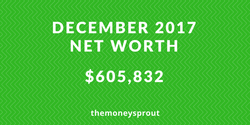How We are Growing Our Net Worth - December 2017