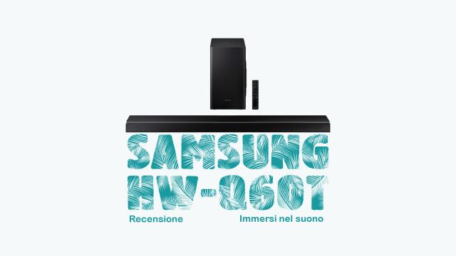 Samsung HW-Q60T recensione