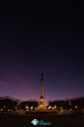 Monument aux Girondins a Bordeaux