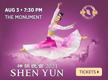 shen yun the monument
