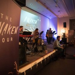The Awaken campus tour at the Moody Center at Northfield