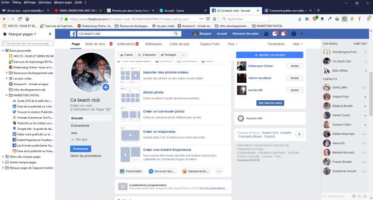 Visuel onglet facebook