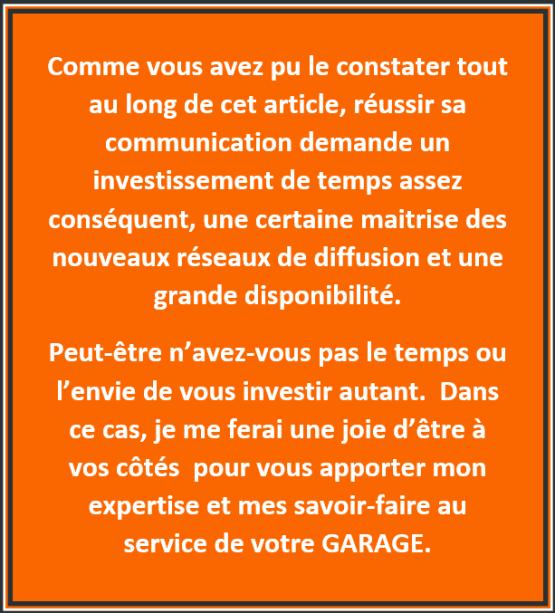 au service de votre garage