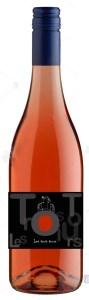 Mockup bouteille rosé