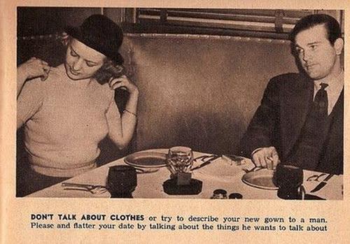 Não fale sobre suas dicas de roupa para mulheres solteiras