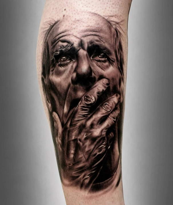 Realistic Tattoos By Silvano Fiato (2)