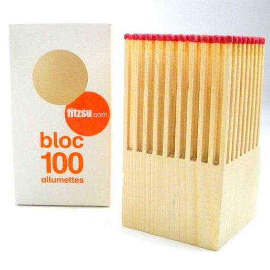 Wooden Matches Block (1)