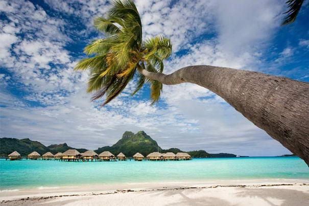 Praias bonitas Bora Bora