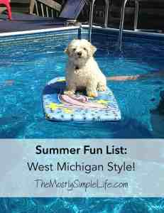Summer Fun List West Michigan