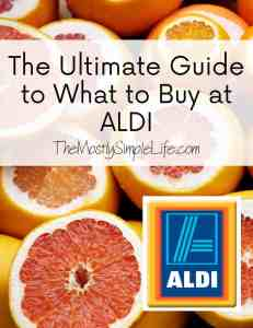 The Ultimate Guide to What to Buy at Aldi
