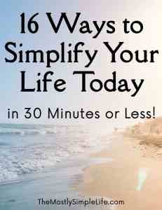 Simplify Your Life Feature