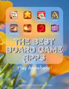 board game apps feature