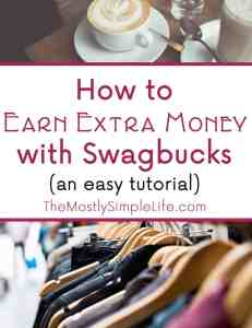 How to Earn Extra Money with Swagbucks