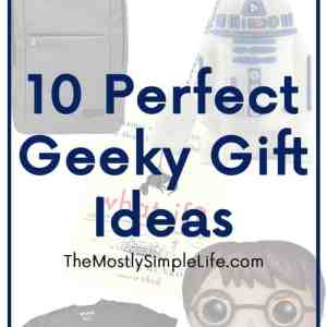10 Perfect Geeky Gift Ideas