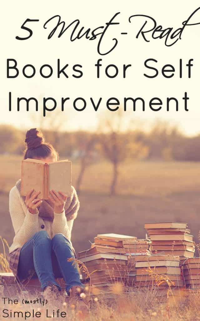 5 Must Read Books For Self Improvement The Mostly