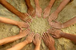 Circle of hands