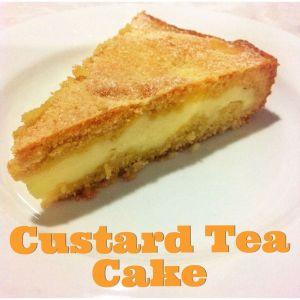Custard Tea Cake