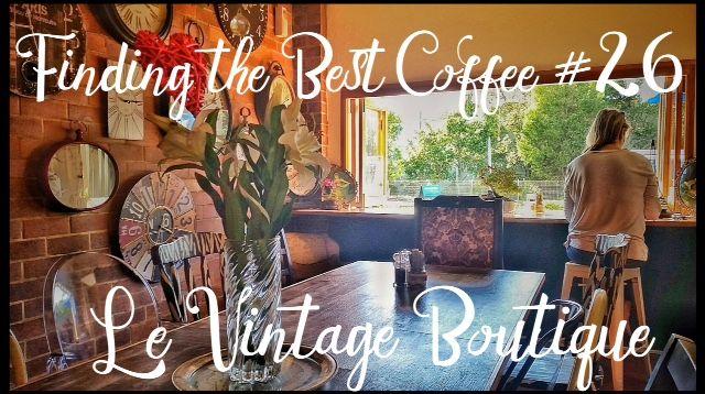 Le Vintage Title Coffee