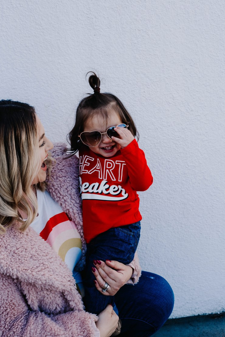 The Motherly Escape My Funny Valentine - Affordable Cute Mom Fashion Target TJ Max finds