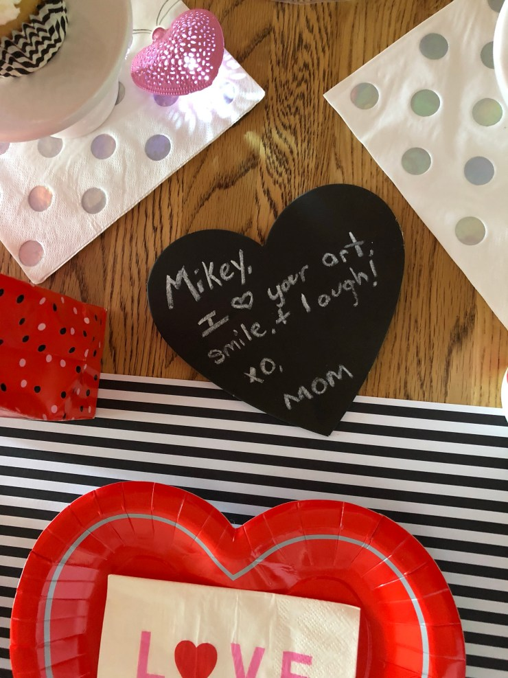 The Motherly Escape- Valentines Dinner Decor, affordable party decor supplies, Target party supplies