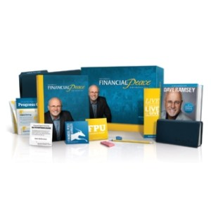 debt free using Dave Ramsey's Financial Peace University